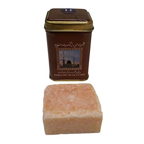 Casa Moro Orientalischer Duftstein Perfume Musk Jamid von Hemani   Alkoholfrei Raumduft aus Harz & Parfümöl   Raumerfrischer Naturprodukt   W1002