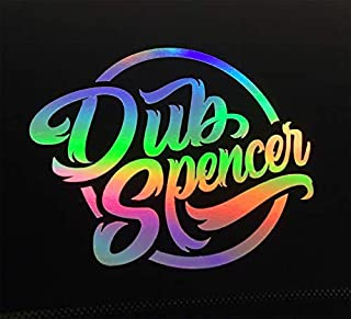 Dub Spencer Tette Raus Olio Slick Adesivo Auto Porno Ologramma Adesivo Stance Static Dub