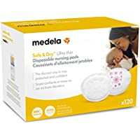 120-Count Medela Safe & Dry Ultra Thin Disposable Nursing Pads