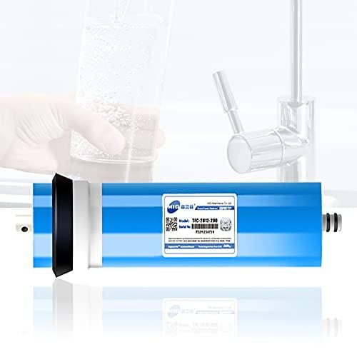 FILTER Membrana Seca 2812-200G RO, reemplazo del Filtro de Agua para el Sistema de purificación de Agua de ósmosis inversa de Uso doméstico Debajo del Fregadero, tasa de desalinización del 96%