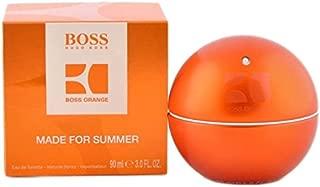 Bóss In Motion Orange Made for summer Eau De Toilette Spray for Men 3 OZ.