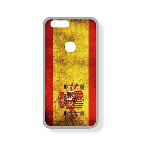 SUPER STICKER Xiaomi Mi A1 / Mi5x - Funda Carcasa Gel Flexible, con Dibujo Original, Ref: Bandera Espana
