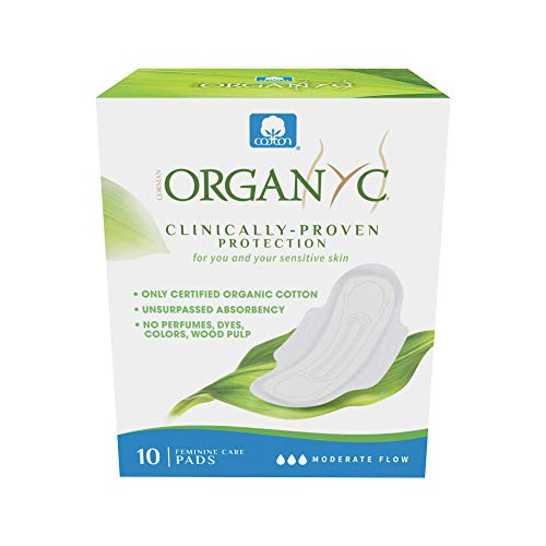 Organyc - Compresas Día con Alas en bolsa individual Organyc, 10 ud