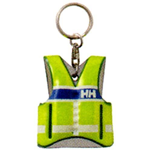 [ヘリーハンセン] キーチェーン Life Jacket Flash Key Holder サンイエロー F