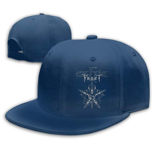 Teifion Harlen Celtic Frost Unisex Travel Sunscreen Caps Sun Hat Navy