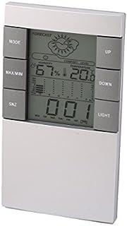 eDealMax multifuncional pronóstico del Tiempo Estación cubierta LCD retroiluminado de temperatura Reloj