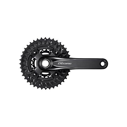 SHIMANO Deore M6000 Mountain Bicycle Crank Set - FC-M6000-3 (Black - 170MM 40-30-22T)