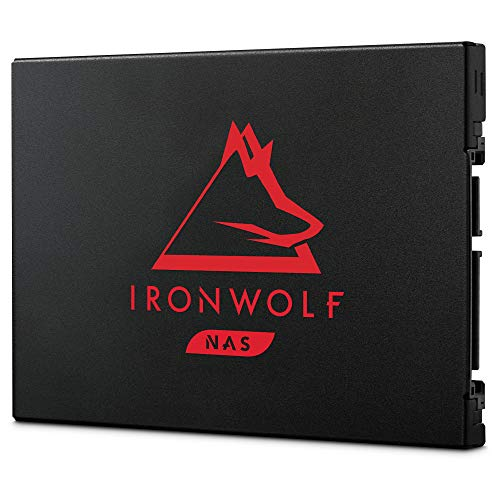 Seagate IronWolf 125 SSD 2TB NAS Internal Solid State Drive - 2.5 Inch SATA 6Gb/s speeds of up to 560MB/s, 0.7 DWPD Endurance and 24x7 Performance for Creative Pro and SMB/SME (ZA2000NM1A002)