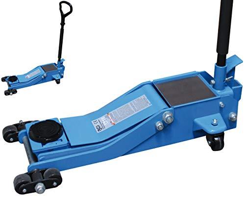 BGS 9252 | Rangier-Wagenheber | hydraulisch | extra flach | 2 t | Hubhöhe 70 - 500 mm | Stahlkonstruktion