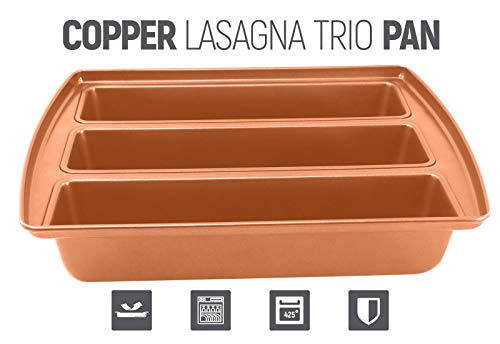 COPPER LASAGNA PAN PERFECT FOR LASAGNA LOAF BREADS CAKES