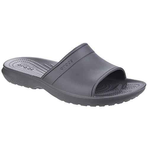 Crocs - Claquettes Classic - Homme (43-44 EUR) (Gris)