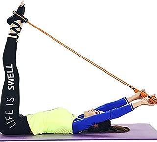 Home Multi-Function Yoga Equipment Fitness Supplies Rally Yoga Aids Pilates Stick QDDSP