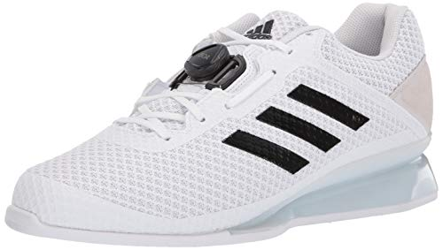 adidas Men's Leistung.16 II, White/Black/White, 4 M US