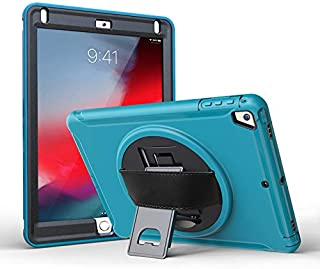 "$39 » elecfan iPad Air 3 Case 10.5"" 2019,with Hand Strap Case Smart Stand Case Cover for iPad Air 3rd Generation 2019/ iPad Pro 10.5"" 2017 Multiple Viewing Angles Case Hybrid Shockproof Rugged Shell,Green"
