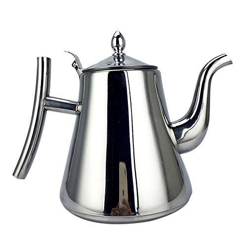 Minions Boutique Edelstahl Teekanne K¨¹Che Teesieb Wasserkocher Kaffee Drip Wasserkocher Filter Teekanne Feinen Mund Teekanne 1,5L