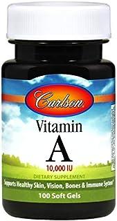 Carlson Labs La Vitamina A. 10 000 Ui 250 Unidades 100 g