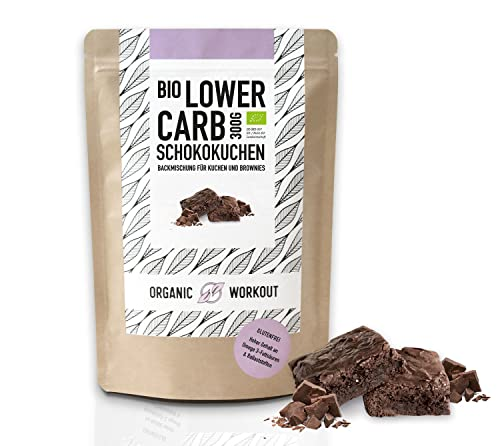 Lower Carb Brownie-Backmischung | bio,...