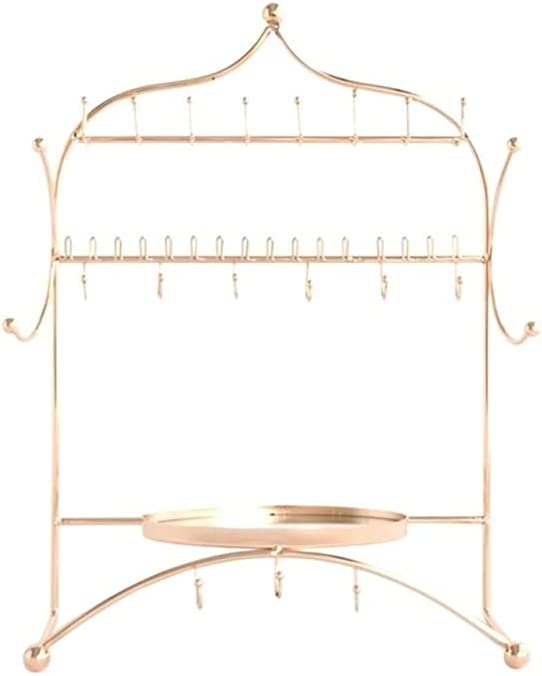 FEANG Jewelry Rack Indianapolis Mall Stand Storage Necklace Earrings OFFicial store