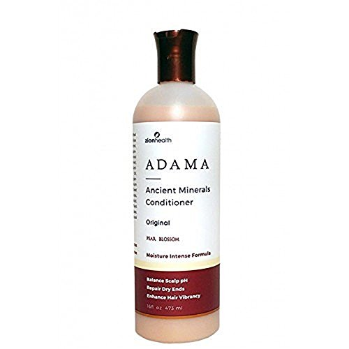 Zion Health Adama Ancient Minerals Conditioner Original Pear Blossom, 16 Fluid Ounce
