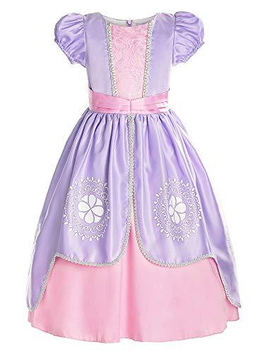 ReliBeauty Girls Short Sleeve Costume...