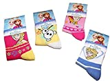 Disney Lot de 5 Paires de Chaussettes enfants Fille Reine Des Neiges du 19/22 au 35/37 (27/30, Assorties)