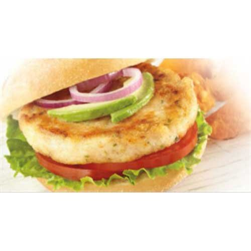 Trident Seafoods Wild Caught Alaskan Whitefish Burger, 10 Pound -- 1 each.