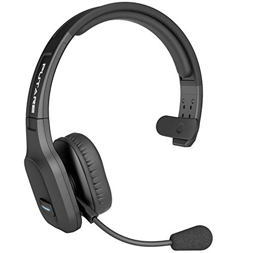 Bluetooth Headset, PUTARE PC Headset mit Mikrofon Rauschunterdrückung, USB-C Quick Charge, 30 Std.Laufzeit, Bluetooth 5, für Call Center, Fahrer, Skype, Büro