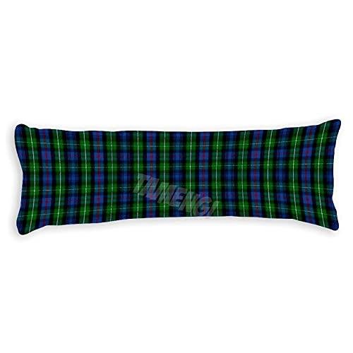Clan Mackenzie Tartan - Fundas de almohada con doble cara 50 x 54 pulgadas
