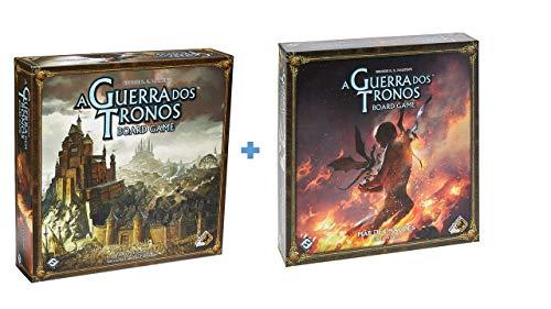Kit A Guerra Dos Tronos + Mãe de Dragões - Expansão Galápagos Jogos
