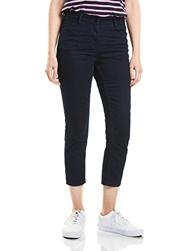 Cecil Damen 371369 Toronto Hose, Blue/Black Used wash, W33