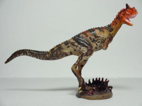 恐竜模型図鑑 海洋堂C.C.ザウルス チョコラザウルス 091. カルノタウルス (Aカラー)