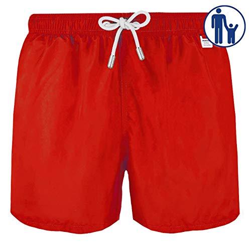 MC2 - Saint Barth Costume Boxer Uomo MOD. Lighting Pantone Rosso - XXL