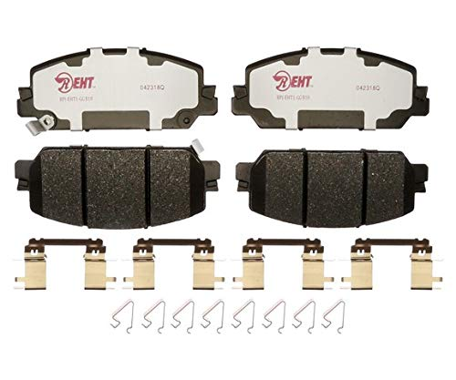 Raybestos EHT2036H Enhanced Hybrid Technology Brake Pad Set, 1 Pack