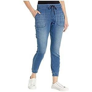 Women's Mid-Rise Skinny Jogger Denim Jean