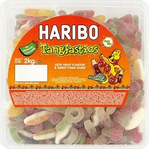 Haribo Sour Tangfastics 2kg Tub