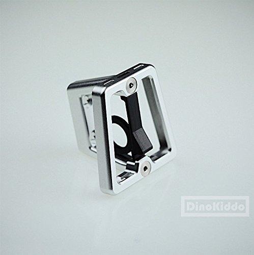 Dino Kiddo Ultra Light Weight Silver CNC Front Carrier Block for Brompton Folding Bike