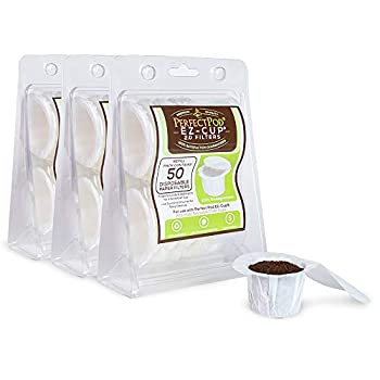 Perfect Pod EZ-Cup Filters by Perfect Pod - 3 pack  150 Filters  Paper Coffee Pod Filters