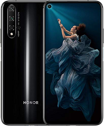 Honor 20 - Smartphone 128GB, 6GB RAM, Dual Sim, Midnight Black