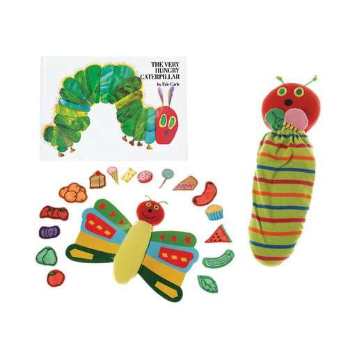 """Constructive Playthings""""The Very Hungry Caterpillar"""" Butterfly and Prop Set from The Childhood Favorite Book, Model:MTC-326"""