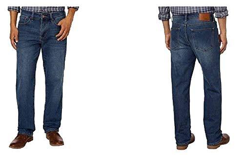 Weatherproof 1948 Fleece-Lined Jeans Classic Straight Leg Medium Vintage (40W X 30L, Medium Vintage)