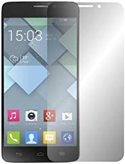 Slabo 2 x displayskyddsfolie Alcatel One Touch Idol X 6040D skärmskydd skyddsfolie Crystal Clear osynlig Made IN Germany
