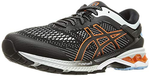 Asics Gel-Kayano 26, Running Shoe Mens, Black/Polar Shade, 42.5 EU