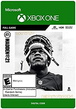 Madden NFL 21: MVP Edition for Xbox One [Digital Code]