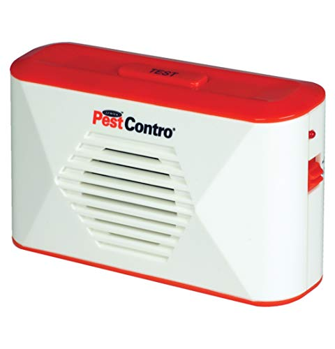 Pest Contro PR23 Battery Operated Repeller, White/Red