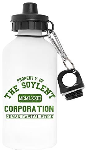 Soylent Corporation Libre de Contaminantes Blanco Botella De Agua Aluminio Para Exteriores Pollutant Free White Water Bottle Aluminium For Outdoors