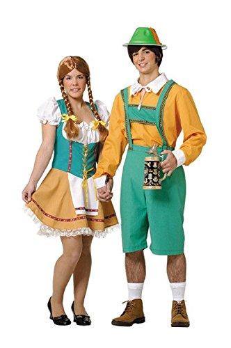 Tirolés Disfraz Tirolesa para Mujer Talla (M-L)=(38-42)