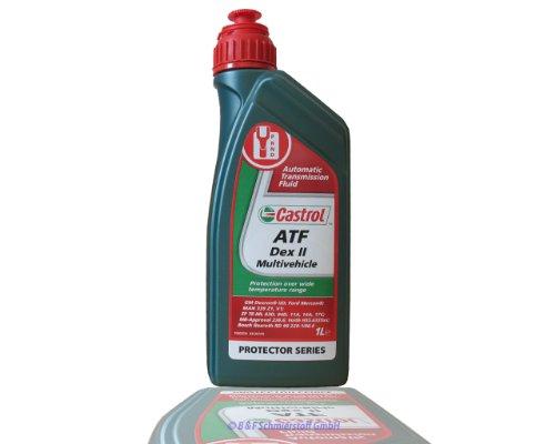 558.31.74Getriebeöl ATF dexil 1L rot MULVE–Castrol tq-d, für Automatikgetriebe und Servolenkung. -