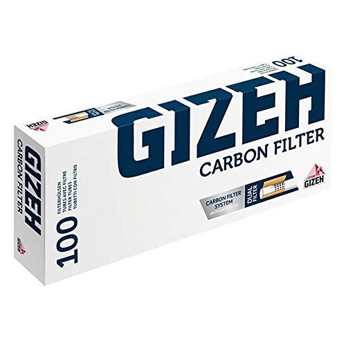 2000 (20x100) GIZEH Carbon Filter (Hülsen, Filterhülsen, Zigarettenhülsen)