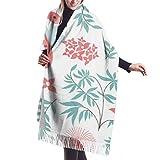 Accesorios de Vestidos, Tapiz, Bufanda con Flecos, Manta, patrón sin Costuras con flamencos Bufanda Grande de Vector Premium Bufandas de Mujer
