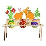 Bluelves Soporte para Huevos De Pascua, Estantes De Madera para Huevos De...
